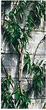 HOPAX Grüne Pfirsichbäume Türaufkleber
