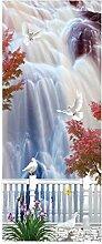 HOPAX Wassermond Türaufkleber Türwandplakate