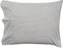 Hope Stripe Pillow Case, 50x75cm, Silence