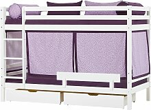 Hoppekids Etagenbett Beautiful Bloom (Set, 4