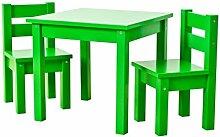 Hoppekids Kindersitzgruppe mit 1 Kindertisch und 2
