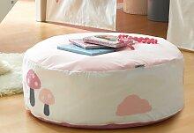Hoppekids Sitzsack Eule B/H/T: 75 cm x 23 rosa