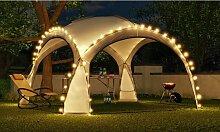 HOPW-LED35G Gartenlaube 3,5x3,5m mit