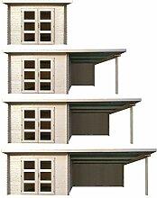 HORI® Gartenhaus I Gerätehaus aus Holz I