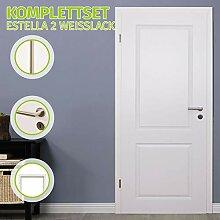 HORI® Zimmertür Komplettset mit Zarge und