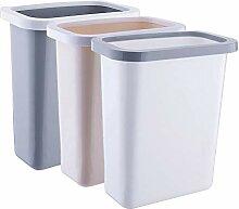 horityau 10L Kunststoff Mülleimer Groß