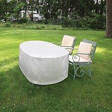 Hornschuch Schutzhülle Für Gartentisch Oval, 143 x 93 x 83 cm