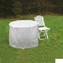 Hornschuch Schutzhülle für Gartentisch rund, 125 x 83 cm
