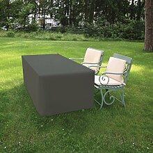 Hornschuch Schutzhülle für Tische Premium, Textilgewebe 420 D, 170 x 140 x 71 cm