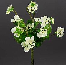 Hornveilchen 22cm weiß-Creme FI Kunstpflanzen