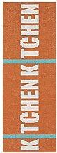 Horredsmattan 10205-0004 Kunstfaser Teppich, Kitchen, 70 x 250 cm, orange