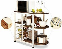 HORS Küchenregal-Mikrowellenherd-Regal-Küchen-elektrisches Regal-Speicher-Lagerregal-Gestell-Rack-Kabinett-Küchengerät-mehrschichtiges Regal Schubladenboxen ( Farbe : #2 )