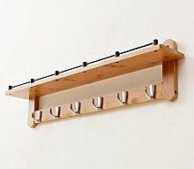 HORS Partition kreative Wohnzimmer Schmiedeeisen Vintage Wand montiert Veranda Kleiderbügel Schubladenboxen ( Farbe : A , größe : 3 )