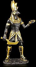 Horus Figur - Ägyptischer Krieger schwarz-gold -