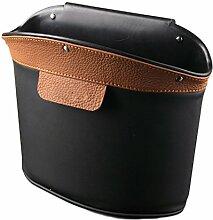 Hosaire Aufbewahrungskiste Auto Leder Hohe Kapazität Mülleimer Trümmer Lagerung Box Kosmetik Fall