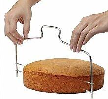 Hosaire Cake Cutter Edelstahl Cake Modeling Sculpting Werkzeug und Stärke einstellbar – Pastell einstellbar/Pastel-Gerät vielschichtigen/Werkzeuge/Utensilien für Verzierung