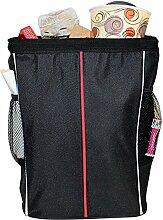 Hosaire Netz Tasche Beutel Mit Haken Klettver schluss Auto Mülleimer Stuhl zurück Aufbewahrungs tasche Trümmer beutel Rastertasche Eintritt Paket Lagerung Taschen