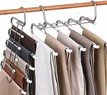 Hosen-Kleiderbügel – platzsparender