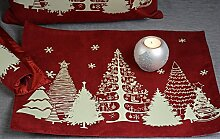 Hossner Platzdecke Deckchen Matte Weihnachten