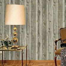 Hot American Style Holz Furnier retro Tapete, C