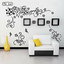 Hot DIY wandkunst aufkleber dekoration schwarz