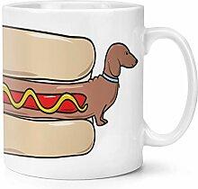 Hot Dog Dackel 10oz Becher