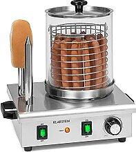 Hot Dog Gerät aus Edelstahl Würstchenwärmer mit