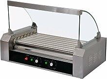 Hot Dog Grill Roller - Hot Dog Maschine - 7 Rollen