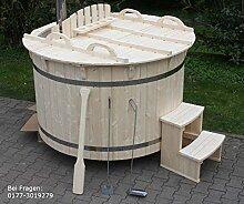 Hot Tub Badezuber 180cm NEU Badefass Edelstahl Ofen Gartensauna Sauna auf Lager Whirlpool