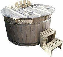 Hot Tub mit Heizung Badezuber Whirlpool Pool 180cm