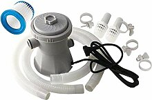 Hotaden 300 Gallon Elektro-Pool Filterpumpe mit
