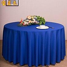 hotel büro treffen tabelle rock tischdecke tischdecke stoff - tuch m2 um tabelle high - end - hotel round - table - tuch,blau,150 * 210cm