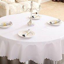 Hotel Runde Tischdecke/ Tischtuch/Tischdecken/
