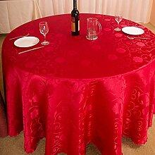 Hotel runden Tischdecke/Restaurant Tischdecken/