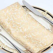 Hotel/Servietten Tuch/Restaurant Reinigungstuch/European-Style minimalistische Tischwäsche/Tisch/Handtuch-N 45x45cm(18x18inch)