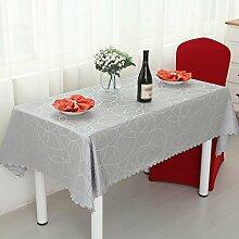 Hotel Tischdecke, europäisches Restaurant Restaurant Tischdecke, rechteckiges Wohnzimmer Couchtisch Tuch, Mode Tisch Rock , #3 , 120*160cm