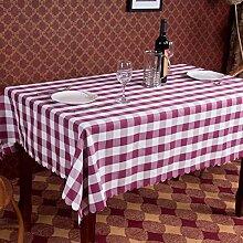 Hotel Tischdecke,Pastoralgitter Tischdecke,Hotelrestaurant Tischdecken,Haushalt Tischdecke-A 120x160cm(47x63inch)
