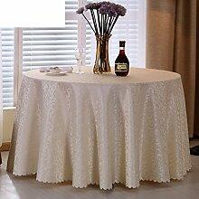 Hotel Tischdecke/Restaurant Tischdecken/European Round Table Cloth/ quadratischen Tisch/Tischdecken-A Durchmesser280cm(110inch)