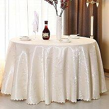 Hotel Tischdecke/Restaurant Tischdecken/Runde / Quadrat Tischdecke/Waschen und verdicken Tuch/Tischdecken/ Table Rock-B Durchmesser380cm(150inch)