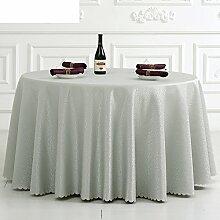 Hotel Tischdecke/runder Tisch/Meeting Office Restaurant/Tischdecken/Tischdecken/European-Style Tischdecken-B Durchmesser360cm(142inch)