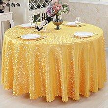 hotel tischdecke stoff - stoff - tischdecke europa tischdecken mode runder tisch tabelle matte tee tabelle tischdecke stoff - über 120 * metall,gelb - goldene blume,160 * metall