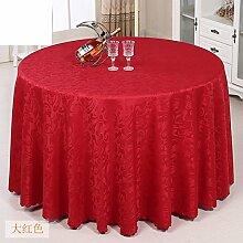 Hotel Tischdecke/Tabelle/Länglich Runde Tischdecke/Tischwäsche Für Den Hausgebrauch-A Durchmesser240cm(94inch)