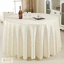 Hotel Tischdecke/Tabelle/Länglich Runde Tischdecke/Tischwäsche Für Den Hausgebrauch-D 140x180cm(55x71inch)