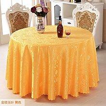 Hotel tischdecke Wedding round table tuch Europäische party tischdecke-B Durchmesser180cm(71inch)