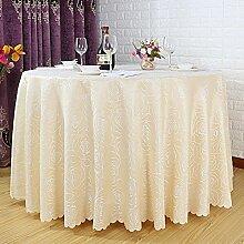 Hotel Tischdecke/ weiße Tischdecke/Restaurant Tischdecken/Garden Home Tischdecke/ Round Table Cloth-C 140x140cm(55x55inch)