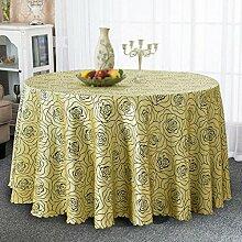 Hotel Tischdecken, runder Tisch Tuch runder Tisch, Tischdecken, Restaurants, Hotels, Couchtisch Tischdecken , #4 , diameter 180cm