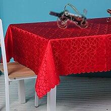Hotel Tischdecken, Tuch europäischen Stil quadratischen Tischdecken, Couchtisch Tischdecken , #3 , 120*180cm