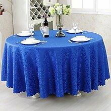 Hotel Tischdecken, Tuch Tischdecken, europäisches Restaurant Restaurant Tischdecken, runde Tisch Röcke , #9 , 120*180cm