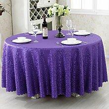 Hotel Tischdecken, Tuch Tischdecken, europäisches Restaurant Restaurant Tischdecken, runde Tisch Röcke , #4 , 100*100cm