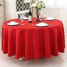 Hotel Tischdecken, Tuch Tischdecken, europäisches Restaurant Restaurant Tischdecken, runde Tisch Röcke , #3 , 140*180cm